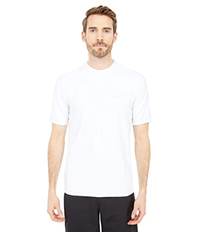 Billabong Arch Mesh Loose Fit Short Sleeve Surf Tee (White) Men