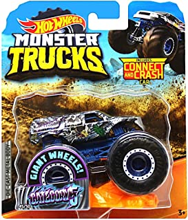 Category 5 Giant Wheels Monster Trucks with Connect & Crash Car