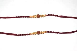 Rakhi Thread, Best for Your borhter/sibbling Multi Color, with Classic Work (Set of 2)