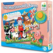 The Learning Journey: My First Sing Along Puzzle - Old MacDonald's Farm - 12 Piece Floor Puzzle with Electric Melody Button