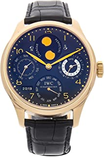 IWC Portuguese Mechanical (Automatic) Black Dial Mens Watch IW5021-03 (Certified Pre-Owned)