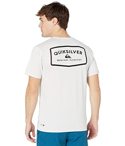 Quiksilver Waterman Gut Check Short Sleeve Rashguard Men