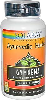 Gymnema Leaf Extract 385mg (Ayurvedic Herbs) Solaray 60 Caps