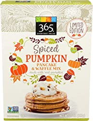 365 Everyday Value, Pancake & Waffle Mix, Spiced Pumpkin, 20 oz