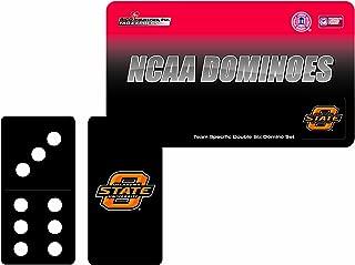 NCAA Oklahoma State Cowboys Domino Set in Metal Gift Tin
