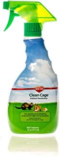 Super Pet Kaytee Clean Cage Habitat Deodorizer Spray, 16-Ounce
