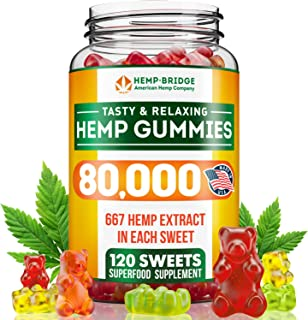 sleep gummies by HEMPBRIDGE