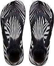 Coloranimal 3D Animal Printed Flip Flops for Women Non Slip Home Rubber Slipper Flats