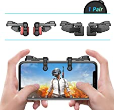 [ELITE Edition]Leuna Mobile Game Controller L1R1 Game Triggers Fire and Aim Buttons for PUBG for Fortnite for iPhone SE 6 7 8 X Xs XR/Samsung Note 8 9 S7 S8 S9 C8 C9 A8s A9s