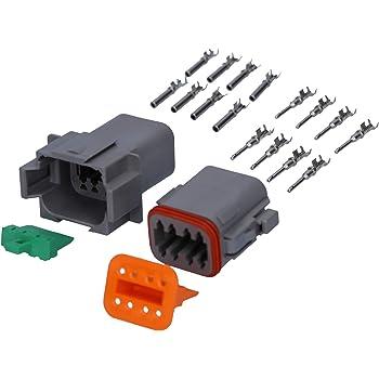 Car Part 2 Polig Way Versiegelt Wasserdicht Elektrische Wire Stecker Plug
