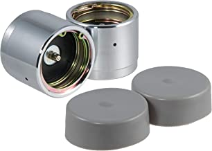 CURT 22244 2.44-Inch Bearing Protectors and Dust Covers, 2-Pack