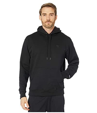 Champion Powerblend(r) Fleece Hoodie (Black) Men