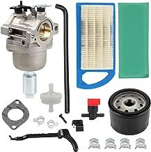 Harbot LA115 MIA12509 Carburetor + Oil Filter+Air Filter Repower Kit for John Deere L107 L108 115 LA115 LA105 LA125 D110 Lawn Mower Tractor