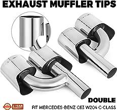 amg muffler tips