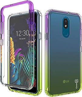 CoverON Colorful Full Body Gradient Series for LG Aristo 4 Plus Case/LG Prime 2 Case Purple F280-CO-LGARISTO4PLUS-HY37-YE