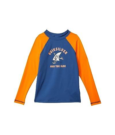 Quiksilver Kids Bubble Trouble Long Sleeve Rashguard (Toddler/Little Kids) Boy