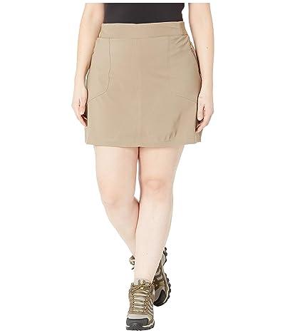 Columbia Plus Size Bryce Canyontm Skort (Truffle) Women