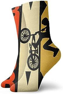 tyui7, Novedad Paw Print Gifts Calcetines Coloridos Diversión Sport Running Medias para hombres y mujeres