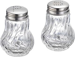 Westmark Salz- und Pfefferstreuer-Set, 2-tlg., Fassungsvermögen: je 50 ml,..
