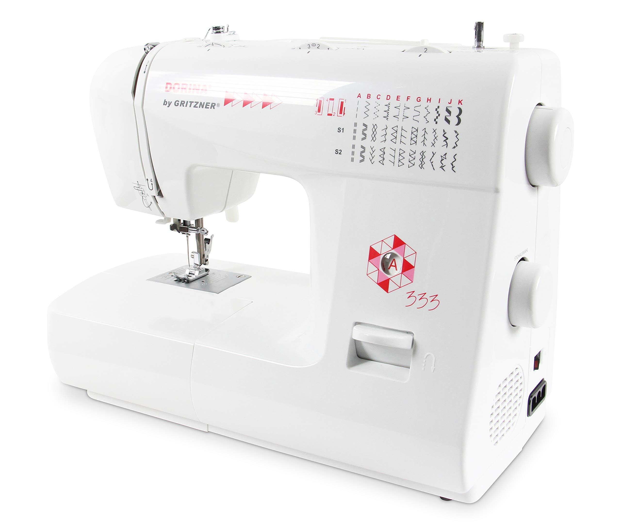Gritzner Dorina 333 brazo libre - Máquina de coser con 33 puntadas ...