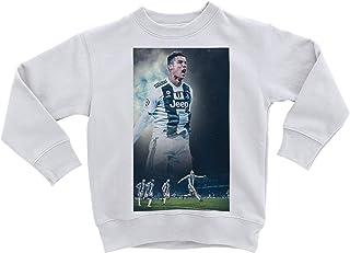 Adulte Tailles - Ann/ées 2 4 6 8 10 12 S M L XL Official Product Cristiano Ronaldo 7 CR7 R/éplique autoris/ée 2020-2021 Enfant