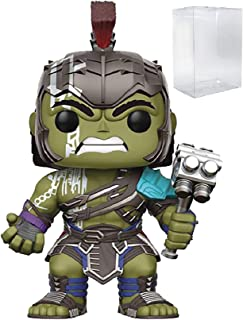 Marvel: Thor Ragnarok - Gladiator Hulk Helmeted Funko Pop! Vinyl Figure (Includes Compatible Pop Box Protector Case)