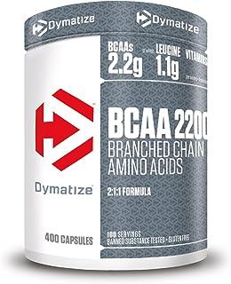 Dymatize BCAA 2200 Caps 12x400pcs - Suplemento - Aminoácidos
