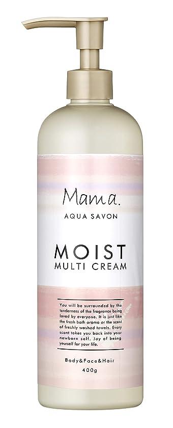若者シロクマサイレントママアクアシャボン モイストマルチクリーム フラワーアロマウォーターの香り 18A 400g