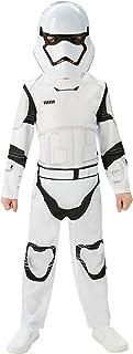 Rubie's - Déguisement Officiel - Star Wars - Déguisement Classique Enfant Stormtrooper Star Wars Vii - Taille M - CS820267/M
