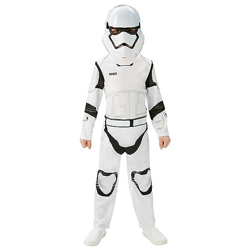 Nice Rubieu0027s Official Stormtrooper Boys Fancy Dress Disney Star Wars The Force  Awakens Kids Costume Medium Ages