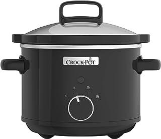 Olla de cocción Lenta Crock-Pot CSC046, 2.4 litros, Negro [Clase de energía A]