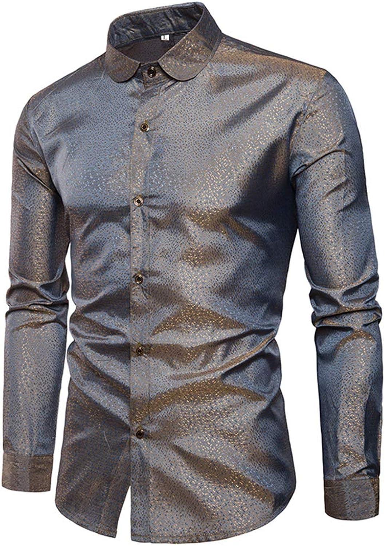 09237ea12 TYLI Retro Retro Retro Shirt Slim-Fit Shirt Casual Shirt Long Sleeve Blouse  Button Down Shirt 1cce75