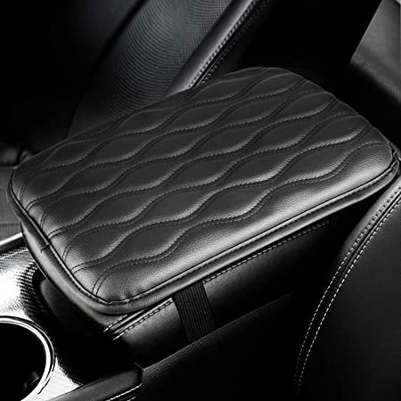 Truck Car Accessories Pattern 3 Monrand Center Console Armrest Pad SUV Universal Car Armrest Cover Fit for Most Vehicle