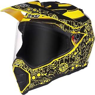 Motocross Helmet Adult,Motorcycle Helmet Men Full Face Helmet Moto Riding for Adult Men Women Motorcycle Helmet,L
