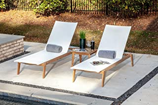 Best double wide outdoor chaise lounge Reviews
