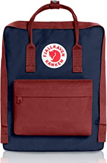 royal blue and ox red kanken classic