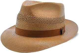 bb7ca131779800 Stetson Back Bay Shantung Straw Fedora Hat
