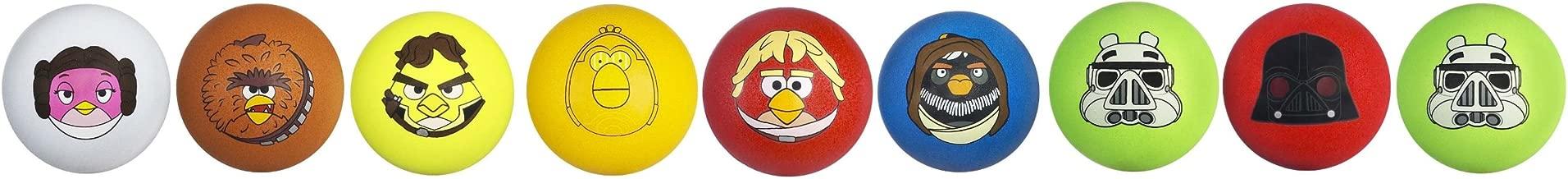 Star Wars Angry Birds Koosh Set of 9 Star Wars Character Balls