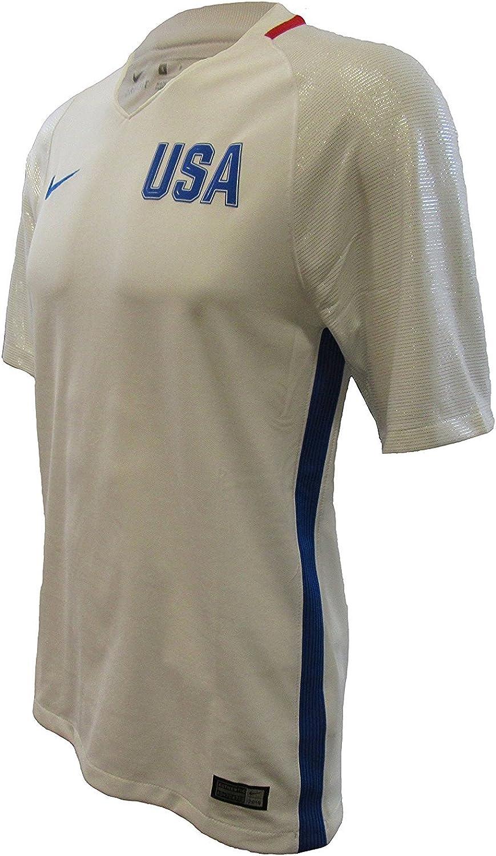National uniform free shipping Nike Men's USA 2016 Olympic Cobalt Hyper Jersey White Popular