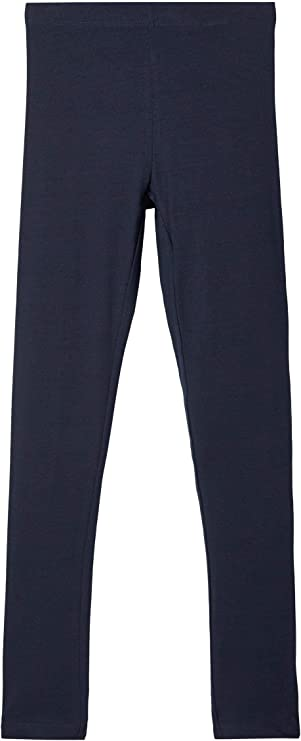 Baumwollhose leggins grau NAME IT Mädchen Leggings Brush-Effekt Leggins Bio