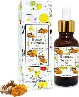 B-URBAN Turmeric Oil 100% Natural Pure Undiluted Uncut Essential Oil 50ml