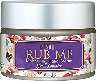 Resoul Rub Me Hand Cream for Nourishing, Sof tening And Moisturizing The Skin (Lavender)