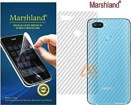 Marshland 3D Carbon Fiber Flexible Back Screen Protector Anti Scratch Bubble Free Back Screen Guard Compatible for Realme 2 Pro