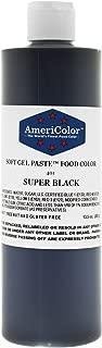 Americolor Food Color, 13.5-Ounce, Super Black