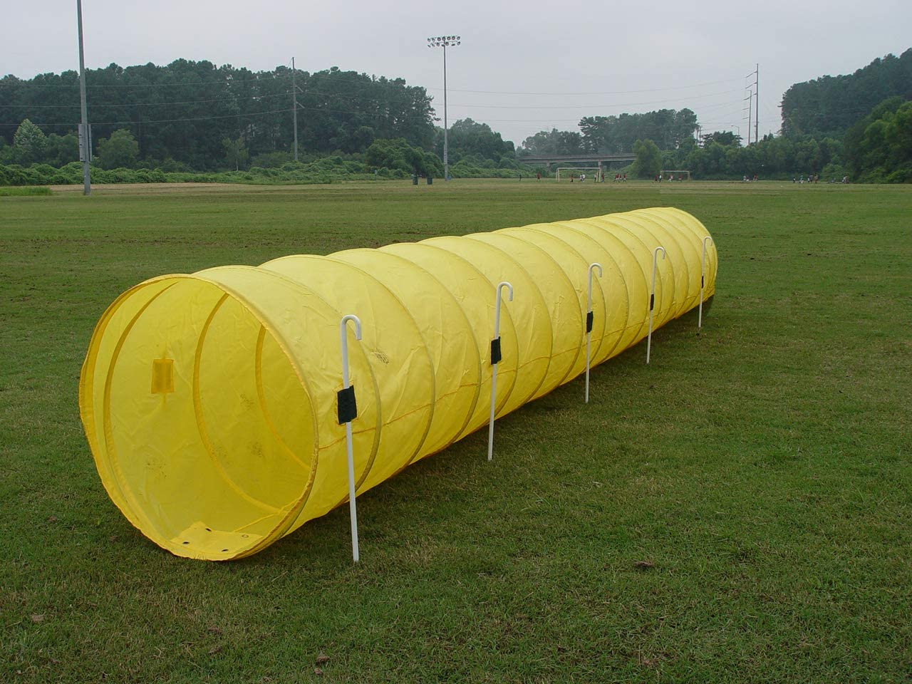14' Dog Agility Tunnel with Stakes Multiple Available San Jose Mall Selling rankings Colors