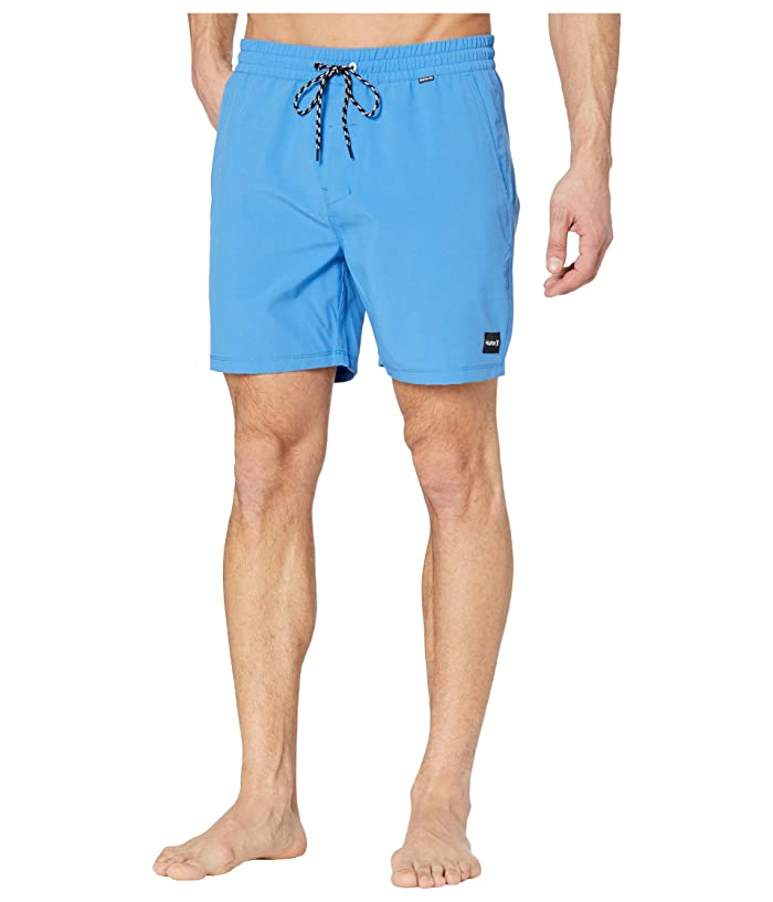 Hurley  17 One Only Volley Boardshorts (Pacific Blue) Mens Swimwear