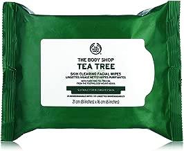 the body shop tea tree wipes