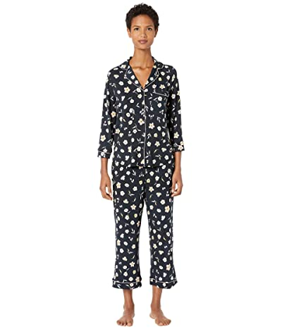 Kate Spade New York Modal Jersey Night Flora Capris Pajama Set (Night Flora) Women