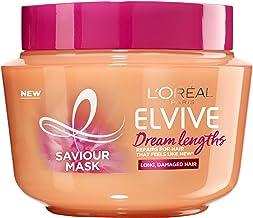 L'Oreal Paris L'Oreal Paris Elvive Dream Lengths Saviour Mask 300ml (For Long, Damaged Hair), 300ml