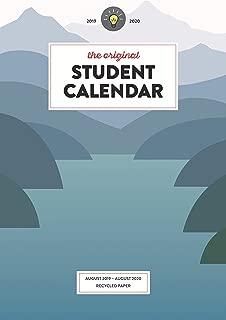 The Original Student Calendar 2019/20